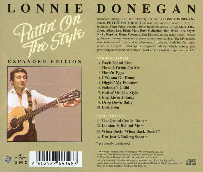 Lonnie Donegan* Lonnie Donegan And His Skiffle Group - Nobody Loves Like An Irishman