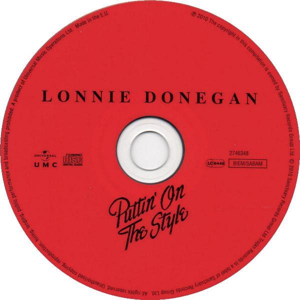 lonnie donegan puttin album