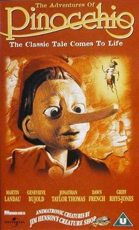 """""""The Adventures Of Pinocchio"""" film"""