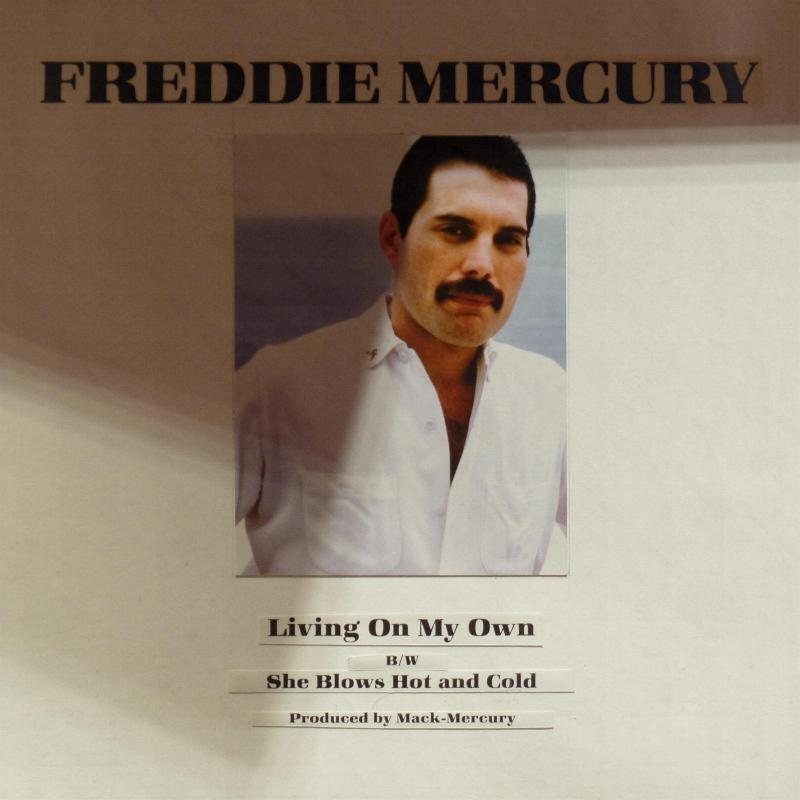 Freddie Mercury Quot Living On My Own Quot Single Gallery