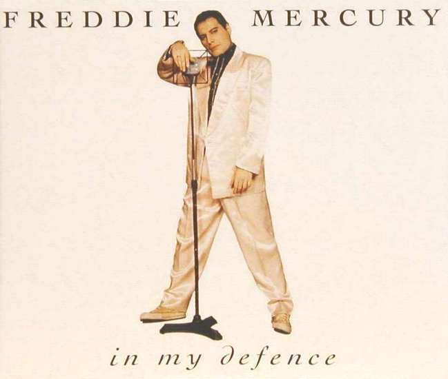 Freddie Mercury Quot In My Defence Quot Single Gallery