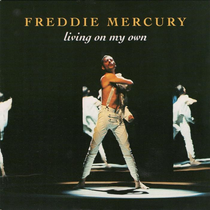 Freddie Mercury Quot Living On My Own Quot Remix Single Gallery
