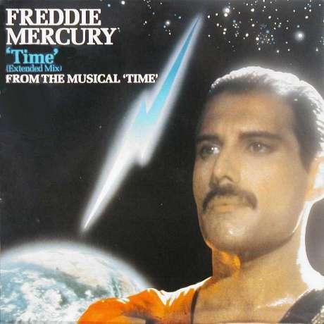 Freddie Mercury Quot Time Quot Single Gallery