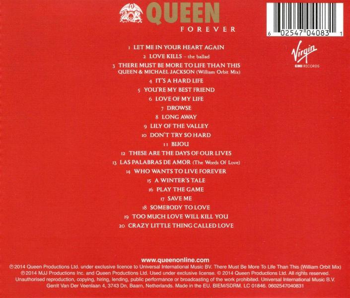 Queen Quot Forever Quot Album Gallery