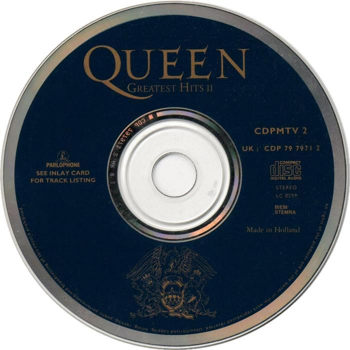 queen quotgreatest hits iiquot album gallery