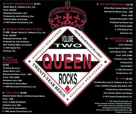 Queen Promo Albums Discography