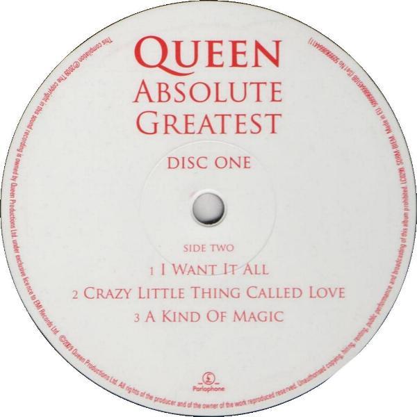 Queen Quot Absolute Greatest Quot Album Gallery