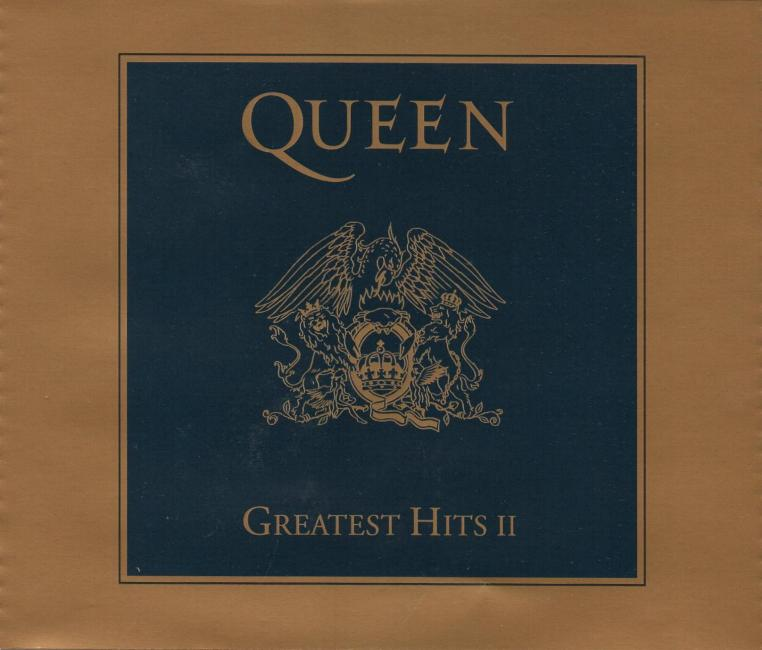 """Queen """"Greatest Hits I & II"""" gold boxed set gallery"""