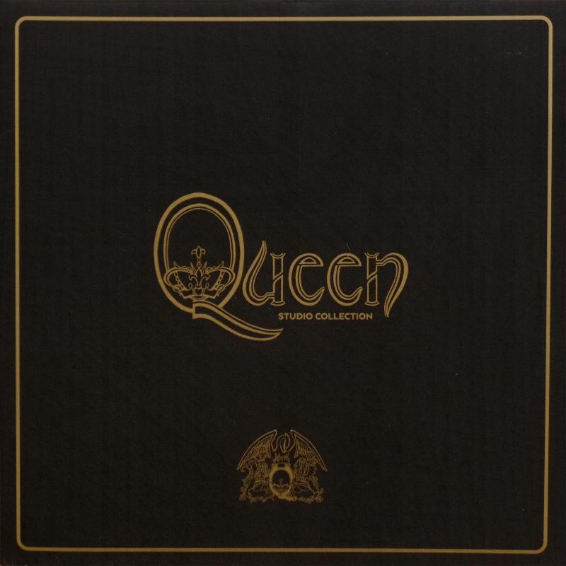 Queen Quot The Studio Collection Quot Boxed Set
