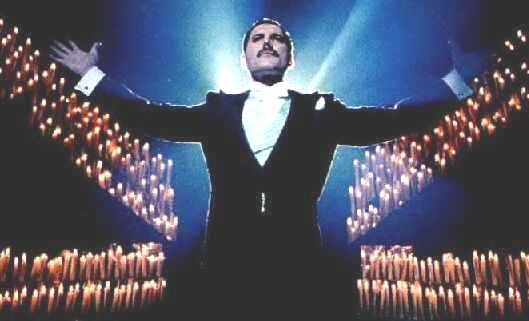 Freddie Mercury Who Wants to Live Forever