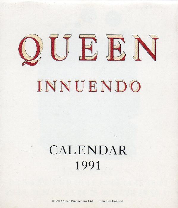 Queen Calendars Gallery