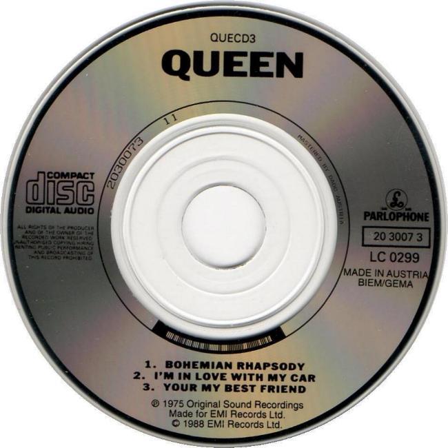 Queen Quot Bohemian Rhapsody Quot Single Gallery