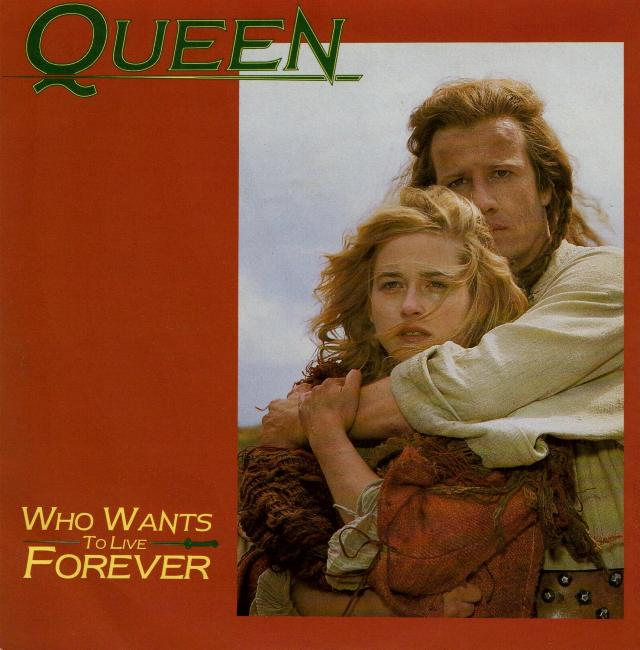 """Queen Highlander Soundtrack: Queen """"Who Wants To Live Forever"""" Single Gallery"""