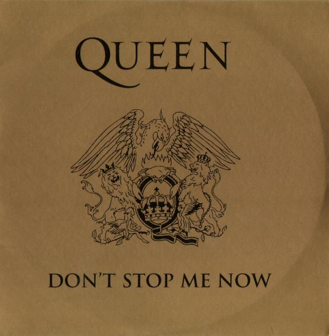 "Queen ""Don't Stop Me Now"" France 1994 reissue single gallery"