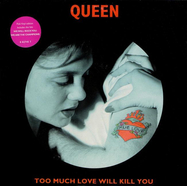 Queen UK Singles Discography 1992-2017