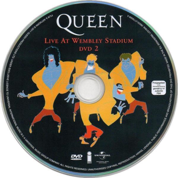 ... UK 2011 CD & DVD set DVD disc 1 .