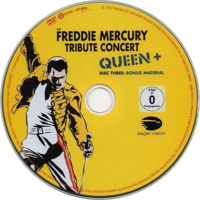 "Queen ""The Freddie Mercury Tribute Concert"" 2013 Reissue ..."