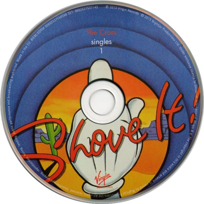 The Cross 'Singles 1' 'The Lot' CD disc